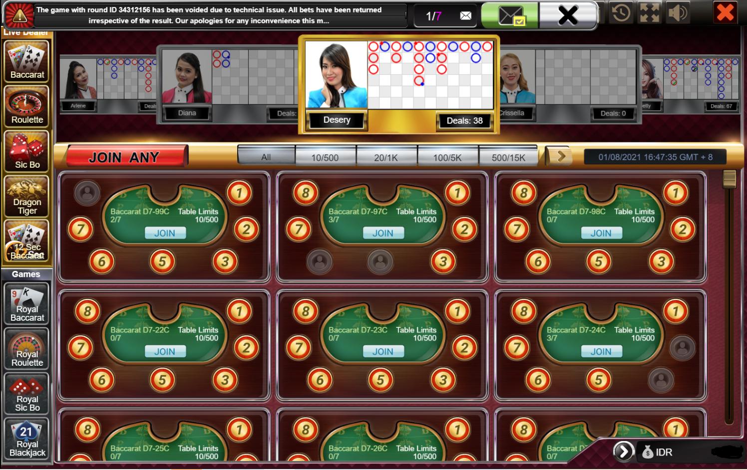 casino online di 396club