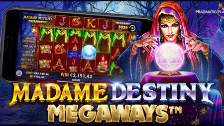 Pragmatic Play Meluncurkan Slot Online Terbaru Madame Destiny Megaways