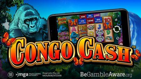 Pragmatic Play Meluncurkan Slot Video Congo Cash Bertema Jungle