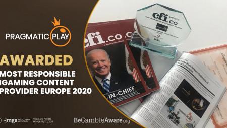 Pragmatic Play Mendapat Penghargaan di Eropa oleh CFI.co