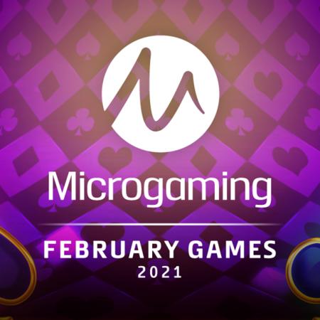 Microgaming Meluncurkan  20+ Game Baru  pada Februari