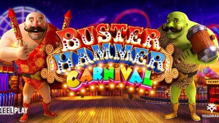 Yggdrasil meluncurkan slot online Buster Hammer Carnival dari studio mitra YG Masters, ReelPlay